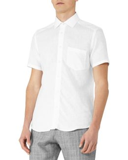 Dodd Short Sleeve Linen Shirt