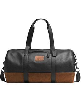 Metropolitan Leather Gym Bag
