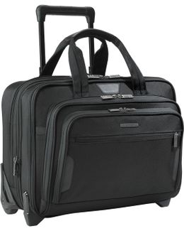"""15.6"""" Laptop And Ipad 2-wheel Mobile Office"""