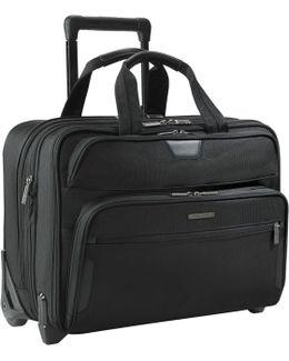"Kr350x-4 Business 17"" Laptop 2-wheel Mobile Office"
