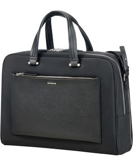 "Samonsite W Zalia Bailhandle 15.6"" Laptop Briefcase"