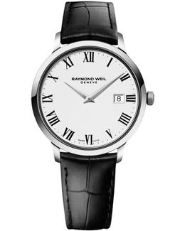 5488-stc-00300 Men's Toccata Leather Strap Watch