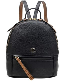 Postman's Park Leather Small Backpack