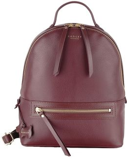 Northcote Road Leather Medium Backpack