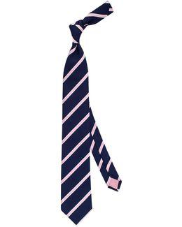 Sudbury Stripe Silk Tie