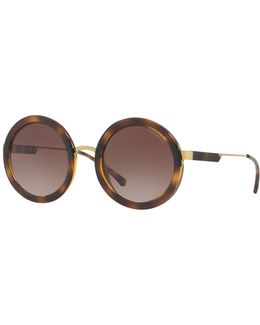 Ea4106 Round Sunglasses