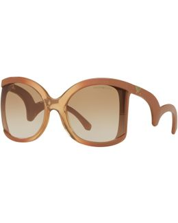 Ea4083 Cat's Eye Sunglasses
