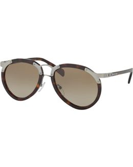 Pr 01ts Aviator Sunglasses