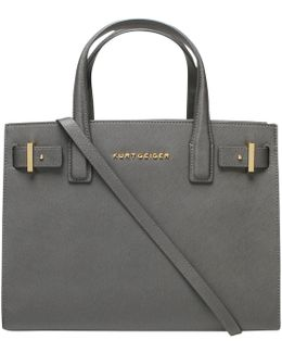 London Saffiano Leather Tote Bag