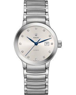 R30027733 Women's Centrix Automatic Diamond Date Bracelet Strap Watch