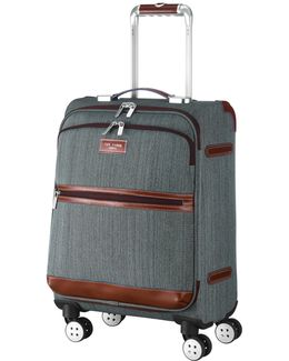 Softside 4-wheel 54.5cm Small Suitcase