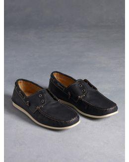 Schooner Laceless Boat Shoe