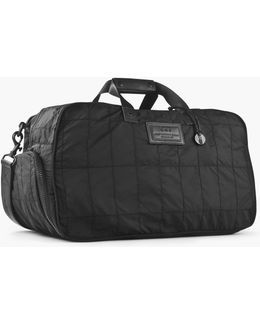 Quilted Nylon Duffle W/ Shoe Pack