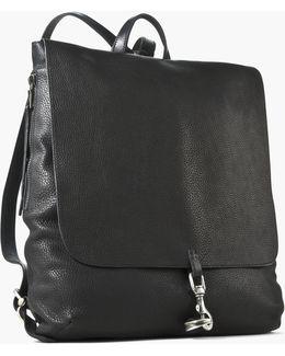 Pebbled Leather Wrangler Backpack