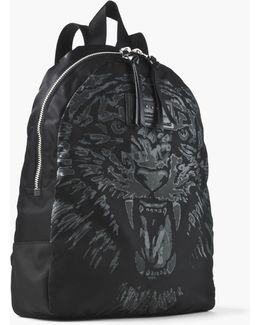 Tiger Pringted Backpack