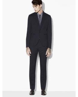 Austin Broken Stripe Suit