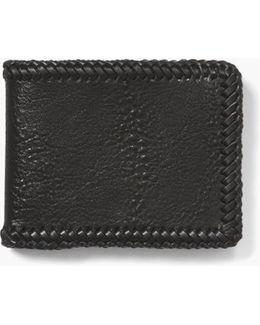 Braided Slim Fold Wallet