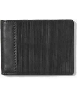 Painted Pinstripe Bifold Wallet
