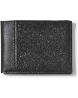 Foil Metallic Bifold Wallet