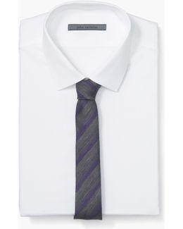 Striped Skinny Tie