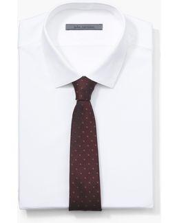 Silk Multi-dotted Tie