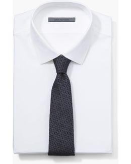 Silk Retro Circle Tie