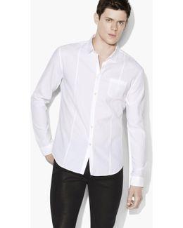 Tonal Trimmed Shirt