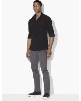 Corduroy Snap Front Western Shirt