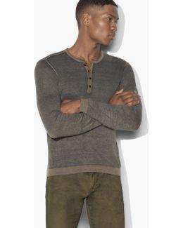 Artisan Henley Sweater