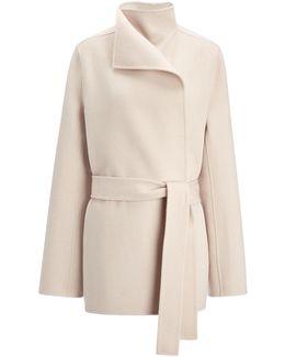 Double Face Cashmere Lima Short Coat