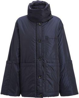 Nylon Douda Coat
