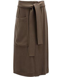 Matt Silk Calle Skirt