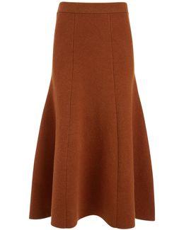 Soft Wool Skirt