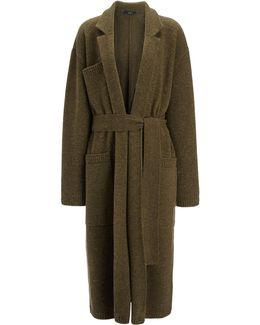 Pure Wool Knit Coat