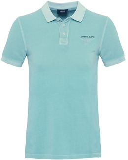 Washed Pique Polo Shirt
