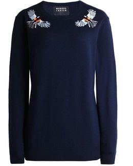 Wool Embroidered Natalie Jumper