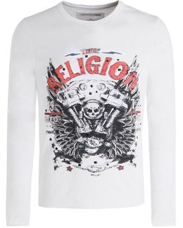Long Sleeve Motorblock T-shirt