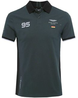 Slim Fit Amr Germany Polo Shirt