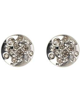 Crystal Sprinkle Stud Earrings - Km