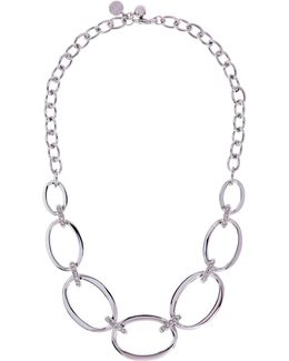 Over Size Chain Necklace - Km