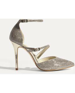 Glitter Fabric Court - Gold