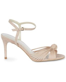Knot Detail Sandal - Nude