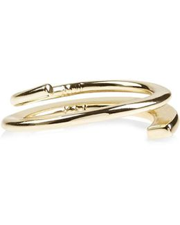 Axial Ring - Gold Colour