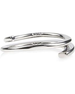 Axial Ring - Silver Colour