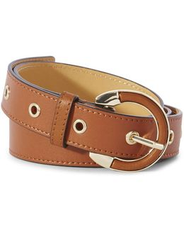 Tan Horse-shoe Belt - Tan