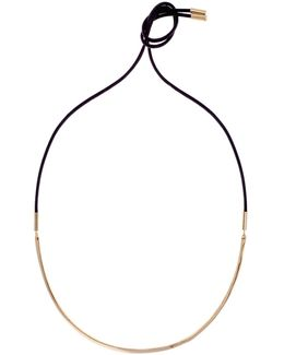 Wave Choker - Gold Colour