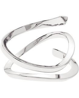 Wave Ring - Silver Colour
