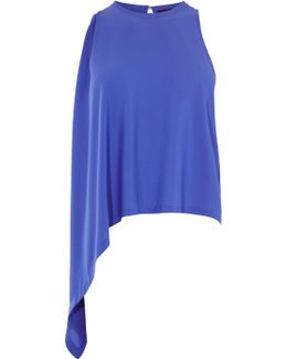 Knot Side Top - Blue