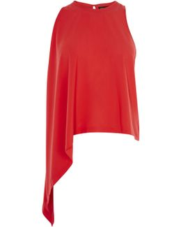 Knot Side Top - Red
