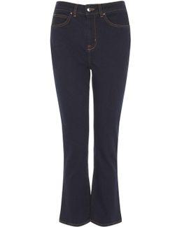 Kick-flare Jeans - Denim